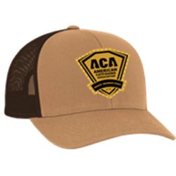 ACA Leather Patch Cap